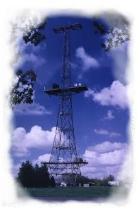 Chain Home transmitter tower (photo - CHIDE)