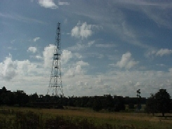 Chain Home transmitter tower at RAF Bawdsey (photo - Posford Duvivier)